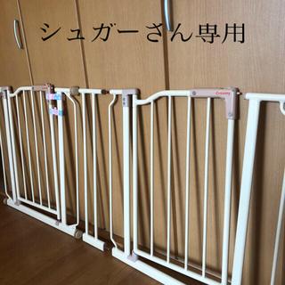 ニシマツヤ(西松屋)のクルーミー ベビーゲート 2セット(ベビーフェンス/ゲート)