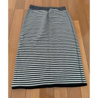 アズールバイマウジー(AZUL by moussy)のazul 膝丈スカート(ひざ丈スカート)