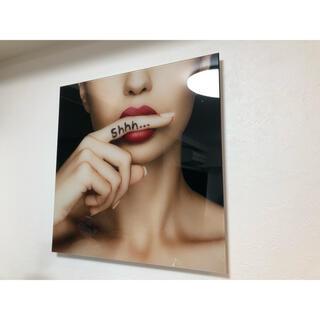 Francfranc - フランフラン インテリア ガラス 絵 ポスター