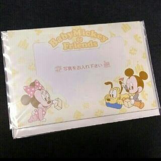 Disney メッセージカード Baby Mickey & Friend