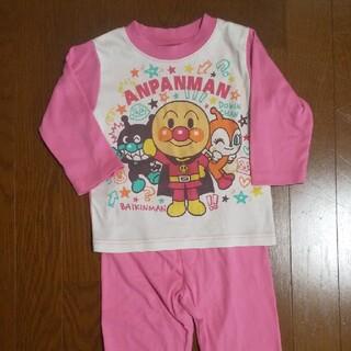 アンパンマン - アンパンマン パジャマ 90 ピンク 薄手