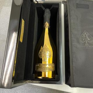 アルマンドブリニャック ブリュット ゴールド シャンパン 750ml 12.5%(シャンパン/スパークリングワイン)