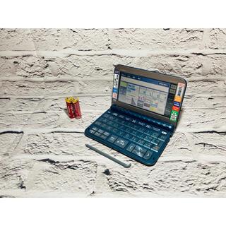 カシオ(CASIO)のCASIO 電子辞書 XD-Z8500 ブルー カシオ(その他)