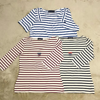 セントジェームス(SAINT JAMES)のSAINT JAMES まとめ売り ボーダー7部丈カットソー2点 Tシャツ1点(カットソー(長袖/七分))