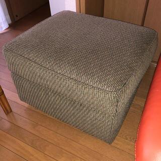 ムジルシリョウヒン(MUJI (無印良品))のオットマン イス 椅子 チェア スツール アンティーク(オットマン)