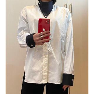 ハイク(HYKE)のHyke ハイク クレシックシャツ ホワイト(シャツ/ブラウス(長袖/七分))