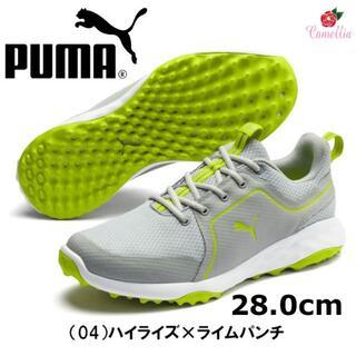 PUMA - 新品 プーマ ゴルフ グリップ フュージョン スポーツ シューズ H