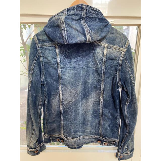 DIESEL(ディーゼル)のDIESEL デニムジャケット メンズのジャケット/アウター(Gジャン/デニムジャケット)の商品写真