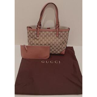 グッチ(Gucci)の新品・希少☆☆ピンクブラウン GUCCI トートバッグ(トートバッグ)