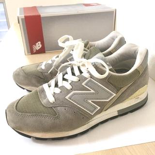 New Balance - ニューバランス 996 USA  グレー 24cm
