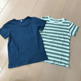 MUJI (無印良品) - 無印良品 半袖Tシャツ2枚