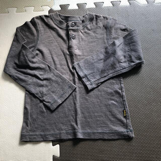 エフオーキッズ(F.O.KIDS)のF.O.KIDSのボタン付き長袖シャツ 110(Tシャツ/カットソー)