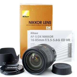 Nikon - Nikon AF-S DX 16-85mm F3.5-5.6 G VR#3263