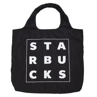 スターバックスコーヒー(Starbucks Coffee)の【新品 台湾限定】スタバ スターバックス エコバッグ バック 海外 黒 おしゃれ(エコバッグ)