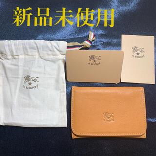 イルビゾンテ(IL BISONTE)の【新品未使用】イルビゾンテ 名刺入 カードケース(名刺入れ/定期入れ)