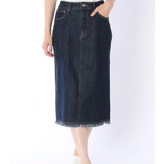 レプシィム(LEPSIM)のLEPSIM デニムタイトスカート デニムスカート(ひざ丈スカート)