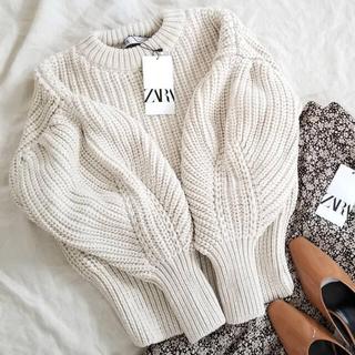 ZARA - ZARA パフスリーブセーター ニット knit