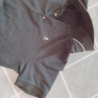 マークアンドロナ(MARK&LONA)のマークアンドロナ メンズLサイズ ポロシャツ 黒(ポロシャツ)