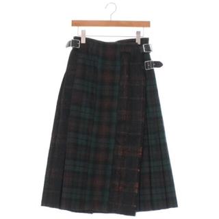 MARGARET HOWELL - O'NEIL OF DUBLIN タータンチェック キルトスカート