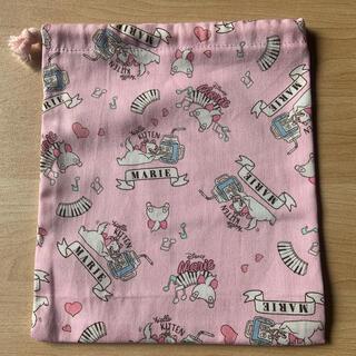 ディズニー(Disney)の巾着袋(小)マリーちゃん(外出用品)