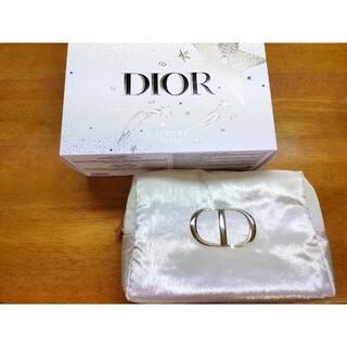 Dior - ディオール クリスマスオファー 2020 ポーチ 白