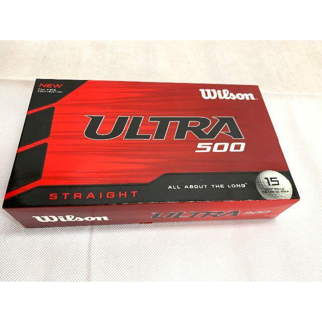 wilson(ウィルソン)のゴルフボール Wilson(ウイルソン)  Ultra 500  スポーツ/アウトドアのゴルフ(その他)の商品写真