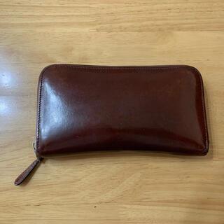 ホワイトハウスコックス(WHITEHOUSE COX)のWHITEHOUSE COX ブライドルレザー製長財布 ラウンドファスナー (長財布)