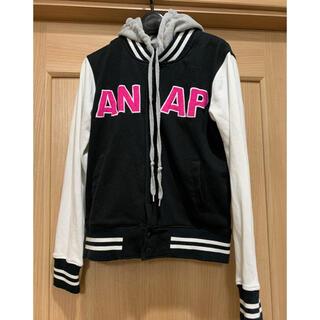 アナップ(ANAP)のアナップ フード付きスエット スタジャン 150(ジャケット/上着)