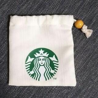 スターバックスコーヒー(Starbucks Coffee)のスターバックス 巾着 ミニカップ(小物入れ)