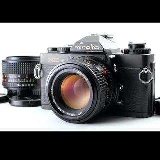 コニカミノルタ(KONICA MINOLTA)のミノルタ XD-S + NEW MD 50 1.4 + 28(フィルムカメラ)