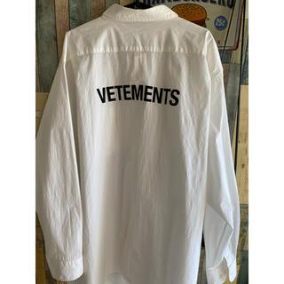 Balenciaga - vetements オーバーサイズ シャツ 正規品