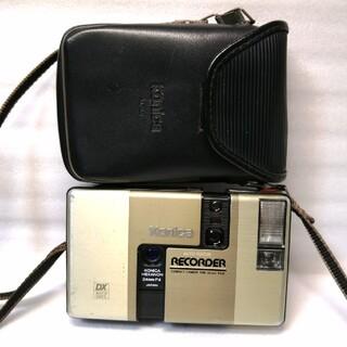 コニカミノルタ(KONICA MINOLTA)の作動品、デート機能付きコニカレコーダー(フィルムカメラ)