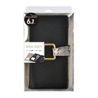 ロイヤルパーティー(ROYAL PARTY)のiPhone12/12 Pro ケースROYAL PARTY 手帳型パイソン (モバイルケース/カバー)