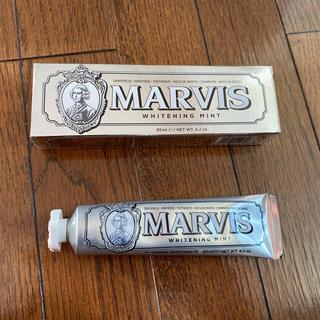 マービス(MARVIS)のMARVIS(マービス) ホワイト・ミント (歯磨き粉) 85ml 単品(歯磨き粉)