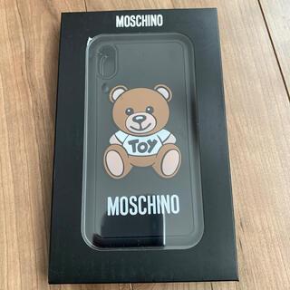 モスキーノ toy bear iPhone xs max ケース 新品