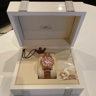 ガガミラノ(GaGa MILANO)のGaGa MILANO ガガミラノ 時計 ヒビあり(腕時計)