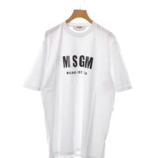 エムエスジイエム(MSGM)のMSGM Tシャツ・カットソー メンズ(Tシャツ/カットソー(半袖/袖なし))