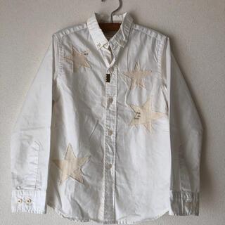 ゴートゥーハリウッド(GO TO HOLLYWOOD)の美品ゴートゥーハリウッド星アップリケシャツ130(ブラウス)
