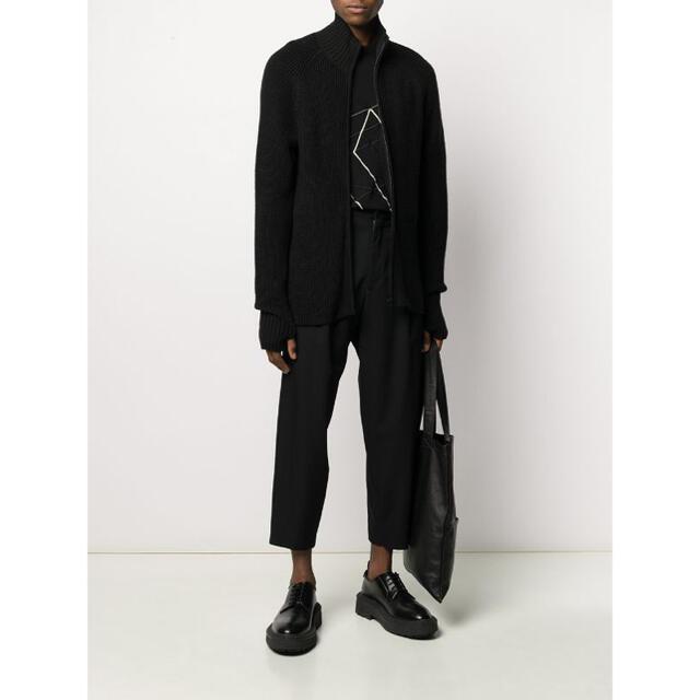 Yohji Yamamoto(ヨウジヤマモト)のYohji Yamamoto リブニット カーディガン メンズのトップス(ニット/セーター)の商品写真