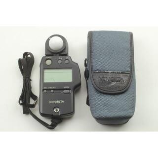 コニカミノルタ(KONICA MINOLTA)のMinolta Auto Meter IV F ケース付 美品 通電確認済み(露出計)