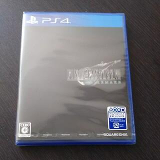 スクウェアエニックス(SQUARE ENIX)のファイナルファンタジーVII リメイク PS4 新品未開封(家庭用ゲームソフト)