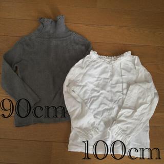 コムサデモード(COMME CA DU MODE)のコムサ 長袖Tシャツ 2枚セット(Tシャツ/カットソー)