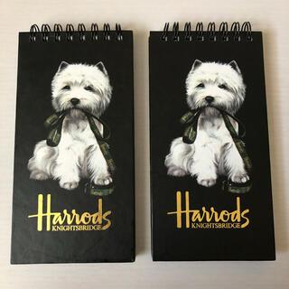 ハロッズ(Harrods)の未使用!Harrods メモ帳(ノート/メモ帳/ふせん)