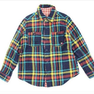 DOUBLE.B - ダブルB リバーシブルチェックシャツ
