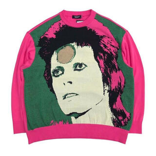 UNDERCOVER - UNDERCOVER David Bowie sweater セーター knit