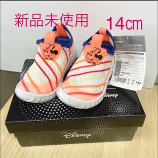アディダス(adidas)の公式 アディダス ミニー ディズニー シューズ キッズ 14 靴 ベビー(スニーカー)