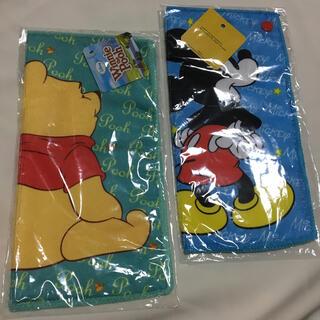 ディズニー(Disney)のキャラクター エンジョイ ポケットタオル(タオル/バス用品)