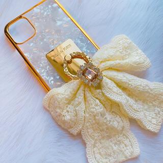 メゾンドフルール(Maison de FLEUR)のiPhone11 🎀 ケース カバー スマホリング ✨(iPhoneケース)