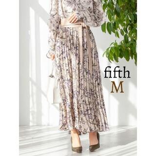 fifth - 新品 fifth フィフス フラワープリント ギャザースカート ロングスカート