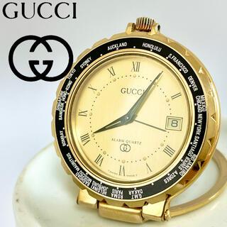 グッチ(Gucci)のグッチ時計 置き時計 ヴィンテージ品 希少品 アンティーク(置時計)